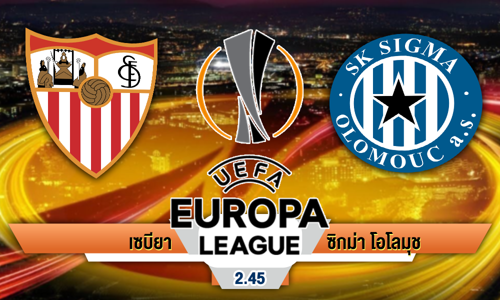 Europa League sevilla vs sigma olomouc